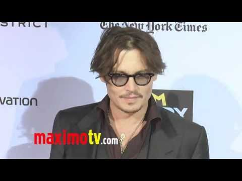 """The Rum Diary"" Premiere Johnny Depp & Amber Heard"