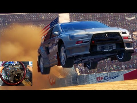 Dirt 3 BACK!!! Gymkhana Time!! X Games Rallycross   SLAPTrain