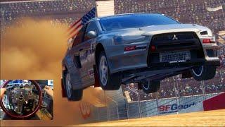 Dirt 3 BACK!!! Gymkhana Time!! X Games Rallycross | SLAPTrain
