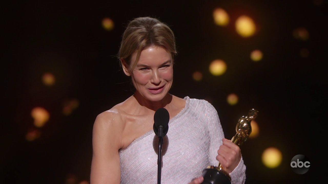 Rene Zellweger Wins 2020 Oscar for Actor in a Leading Role in ...