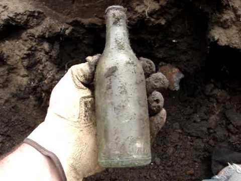 Digging Some Seven Springs NC Antique Soda Bottles