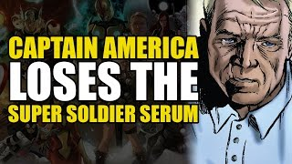 Captain America Loses The Super Soldier Serum (Captain America Vol 4: The Iron Nail)