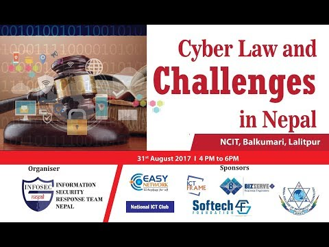 Cyber Law and Challenges in Nepal by NPCERT at NCIT
