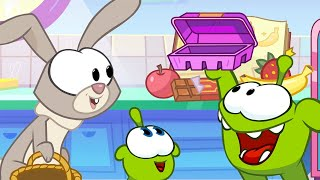 Om Nom Stories 💚 Chocolate Easter Eggs (Cut the Rope) Super-Noms 💚 Super ToonsTV