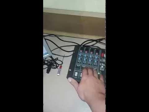Mesa wattson ciclotron 4 canais web radio