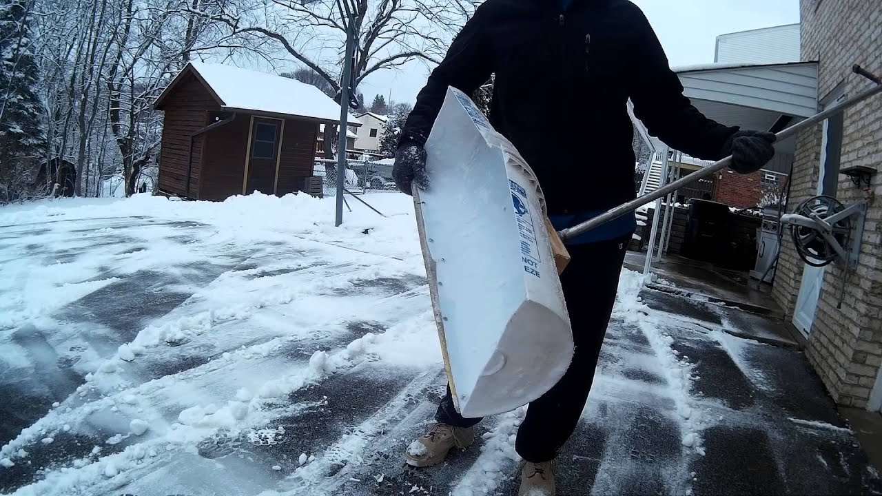 Diy Snow Shovel Youtube