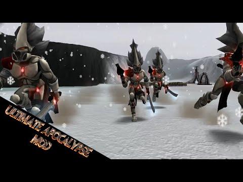 Eldar and Drunk Heavy D! - Dawn of War Ultimate Apocalypse Mod