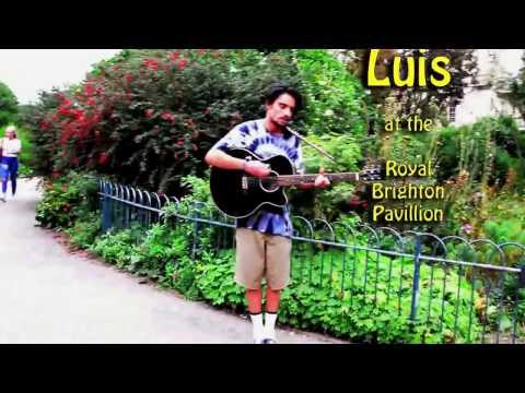 Luis at the Royal Brighton Pavilion