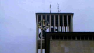 """Glockenspiel des Saarlouiser Rathauses -Saarlouis Innenstadt- """"Ein Männlein steht im Walde"""""""