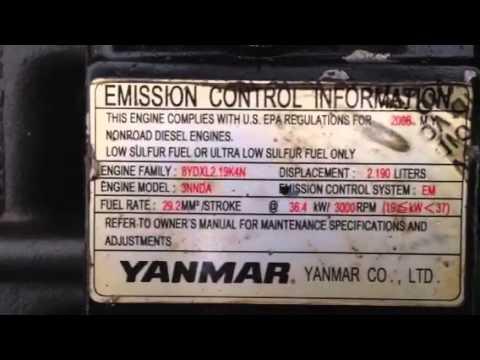 yanmar 4tnv88 to skid steer mustang 2044 youtube rh youtube com Mustang 2013 2044 Skid Steer Mustang Skid Steer 2064