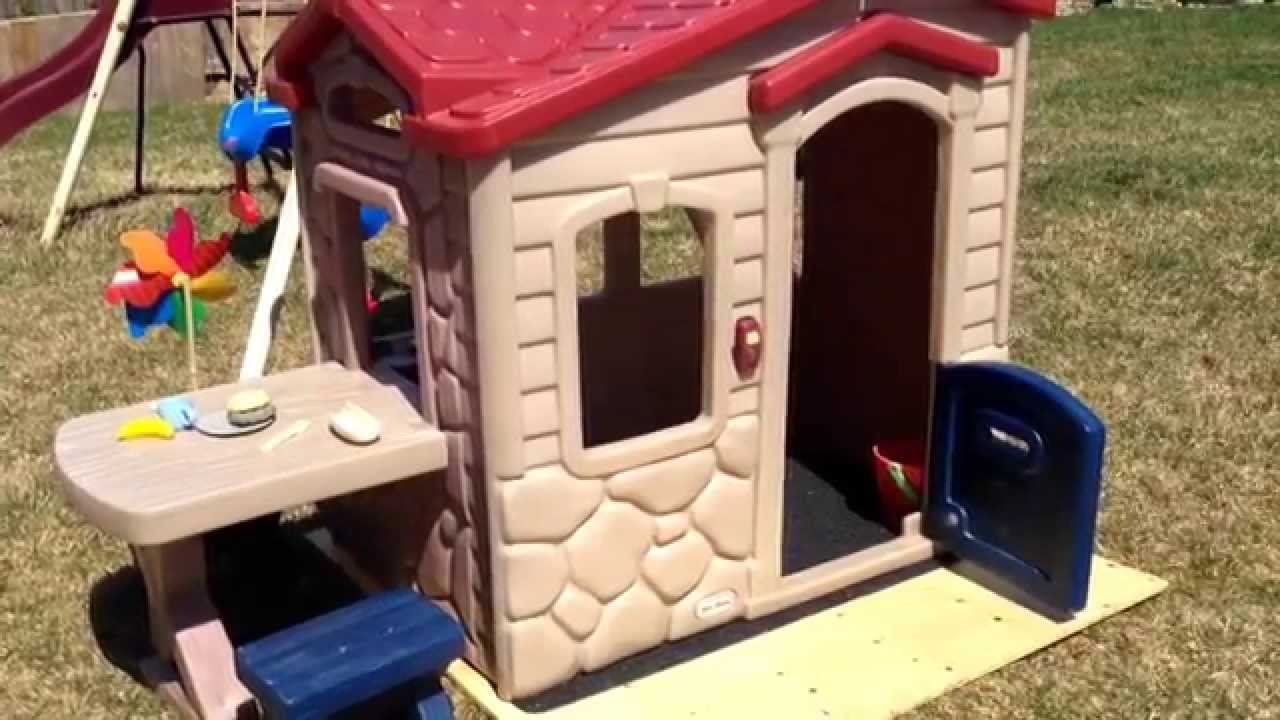 little tikes picnic on the patio playhouse review helpful tips youtube - Little Tikes Picnic On The Patio Playhouse
