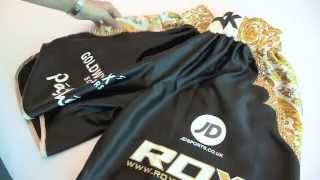 The Story Of The World's Most Expensive Boxing Shorts - To Be Worn By Amir 'king' Khan
