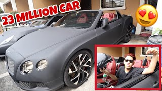 MAY BENTLEY CONTINENTAL GT NA KO DOGIE!!! (23 MILLION TO!!!)