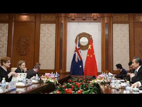 China and Australia vow to tighten ties