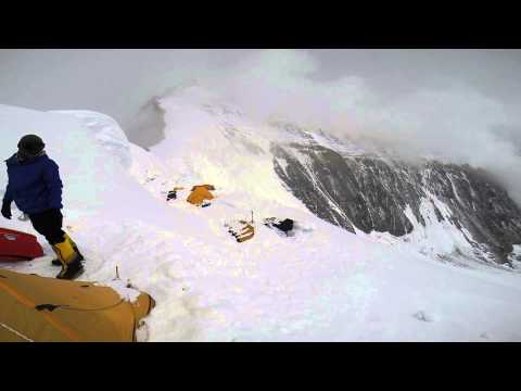 Video of Malavath Poorna on Everest: Trying the ascend to summit