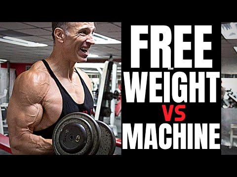 Free Weights or Machines For Best Results?