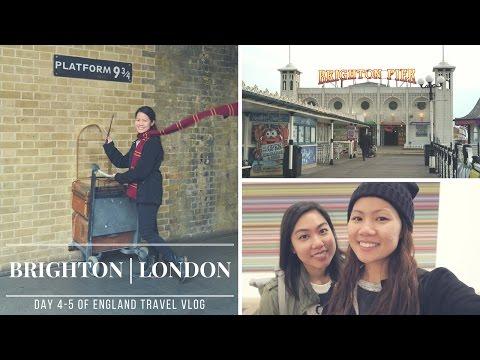 Travel Vlog│Brighton & London (Day 4-5)
