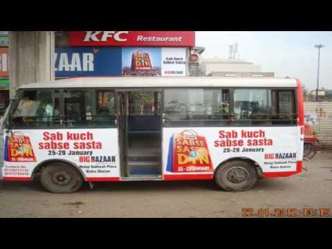 Dmrc Bus Advertising in India
