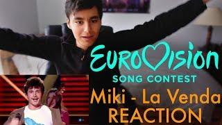 Miki - La Venda (Eurovision 2019 Spain) - REACTION