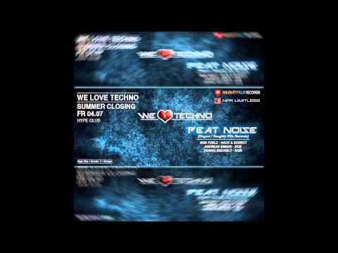 Peat Noise @ WE LOVE TECHNO, Hype Club, Stuttgart (Germany) (04.JULY.2014)