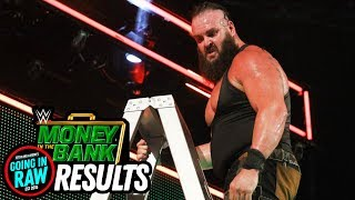 WWE MONEY IN THE BANK 2018 REVIEW & RESULTS! (Going In Raw Pro Wrestling Podcast)