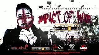 BEAT HIP HOP HARDCORE - IMPACT OF WAR #HIPHOP#INSTRUMENTAL#2018 (producción | BroskyTsW)