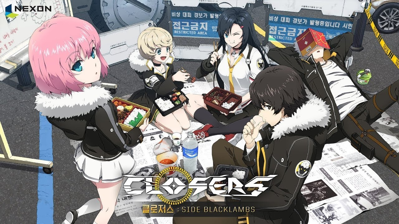 Closers Side Blacklambs Anime Episode 1 Vostfr