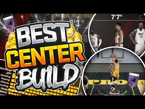 NBA 2K18 Best CENTER Build - OVERPOWERED Slasher/Athletic Finisher BIG MAN Archetype In NBA 2K18!