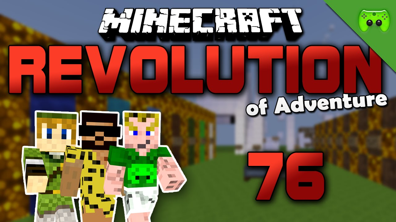 MINECRAFT Adventure Map # 76 - Revolution of Adventure «» Let\'s Play ...