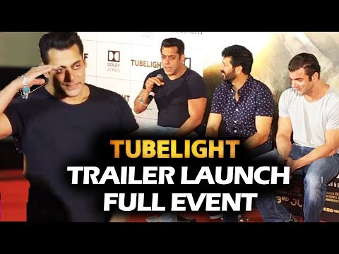 Tubelight Trailer Launch - FULL HD Event - Salman Khan, Sohail Khan, Kabir Khan