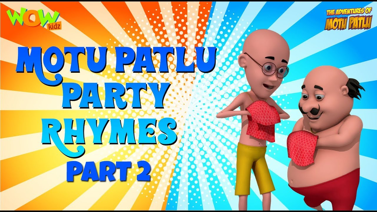 Clap Your Hands With Motu Patlu 3 Hours Of Rhymes Available