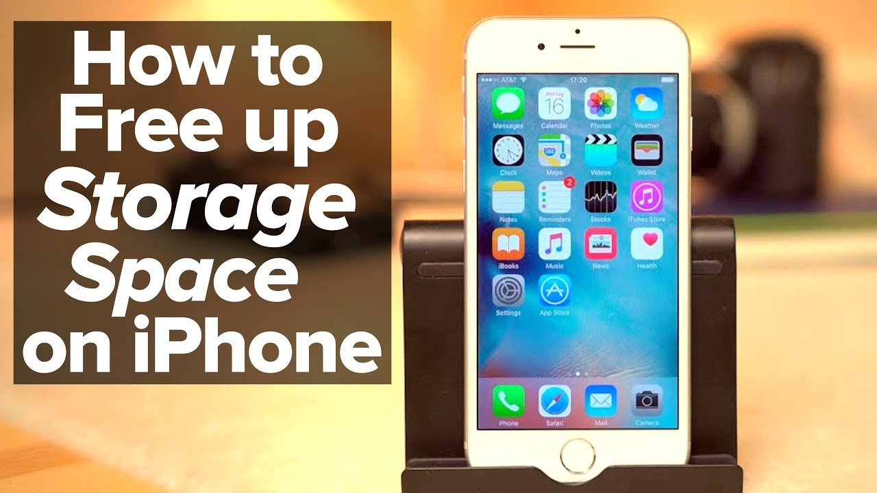 How to free up space on your iPhone without deleting photos