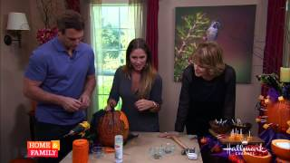 Edible Pumpkin Centerpiece - Diy By Tanya Memme (as Seen On Home & Family)