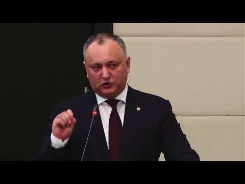 Igor Dodon, president of Republic of Moldova