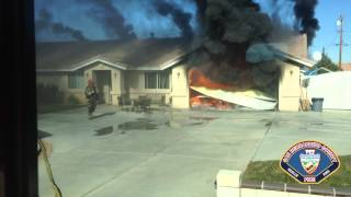Sbcofd Division 3 Structure Fire Peral Street Victorville