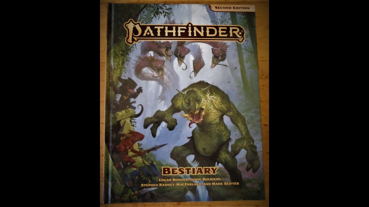 My Top 5(ish) Favourite Monsters in the Pathfinder 2E Bestiary