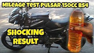 Pulsar 150 Mileage test   city traffic