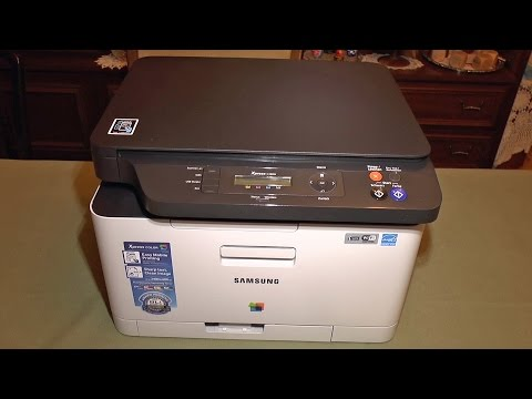 samsung-c480-color-laser-printer-setup-and-demo