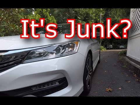 Honda Accord Sport Front End Noise Update