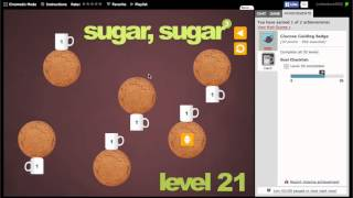 Sugar, sugar 3 Walkthrough (Easy and Hard Badges)