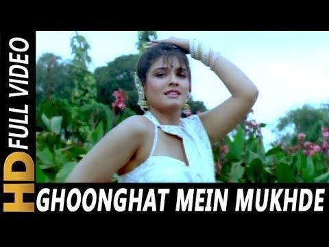 Download Ghoonghat Mein Mukhde Ko | Alka Yagnik, Udit Narayan | Vijeta 1996 Songs | Raveena Tandon