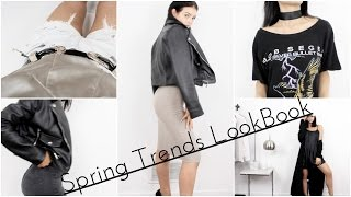 Spring Trends Lookbook   Outfit Ideas 2016