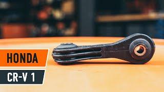 Cómo cambiar bieletas de suspension trasera en HONDA CR-V 1 INSTRUCCIÓN | AUTODOC
