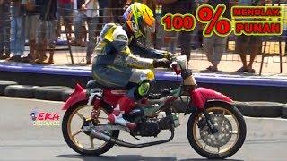 WANI PERIH ; MOTOR SILUMAN Bebek Jadul Ikut Road Race Pirelli Jepara Road Race 2019 Kapolres Cup