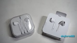 Apple EarPods and Lightning EarPods Unboxing & Comparison Review