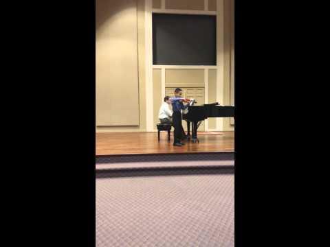 Beriot Concerto No. 9 in A Minor Violin by Randy Tan
