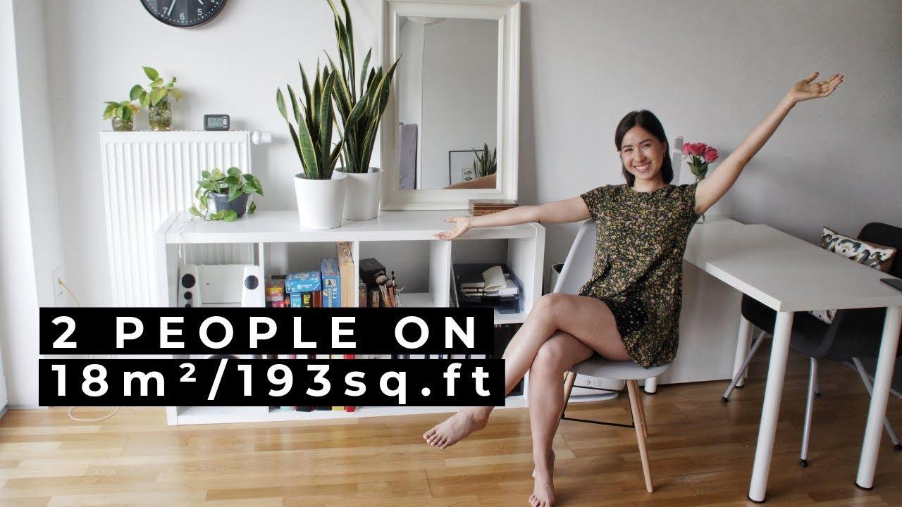 Minimalist Tiny Apartment Tour Youtube