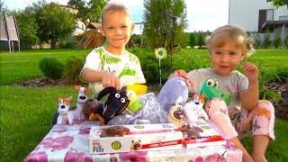 Подарок Сюрприз Тайная жизнь домашних животных  The Secret Life of Pets Toys Surprises