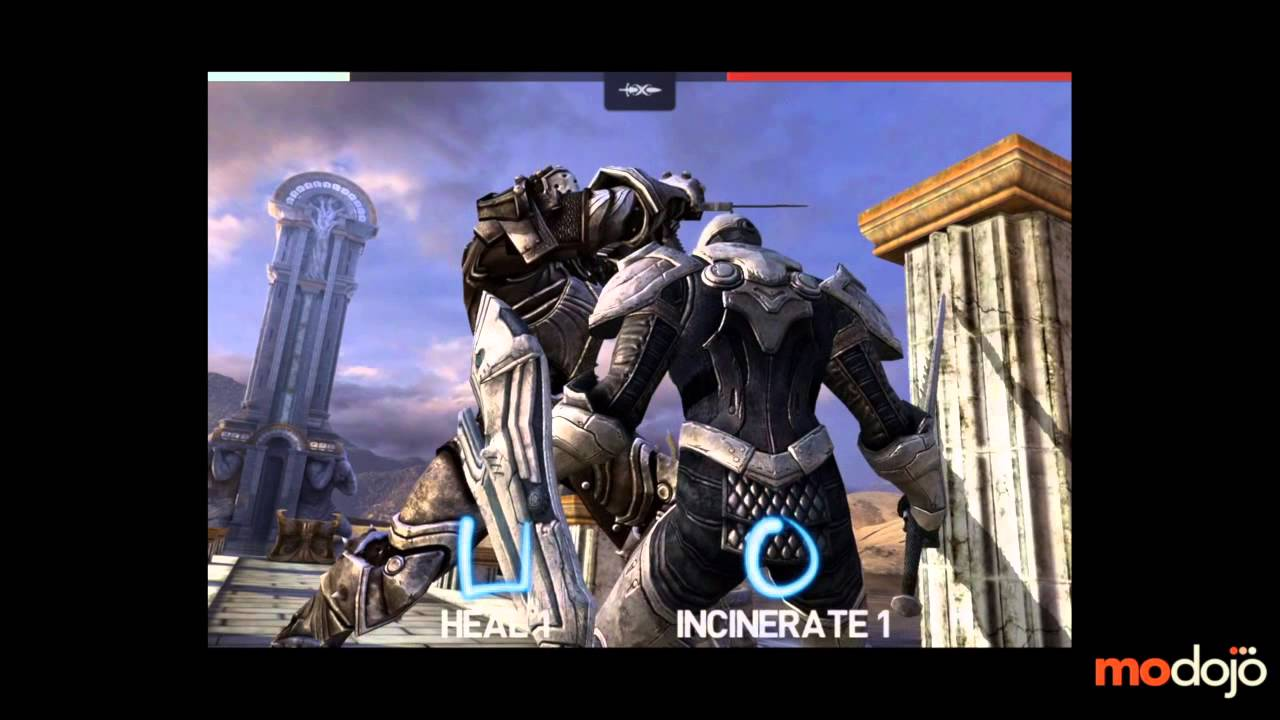 Infinity Blade 3 Walkthrough (iPhone/iPad) Raidriar Stronghold, Larioth 2nd  Battle