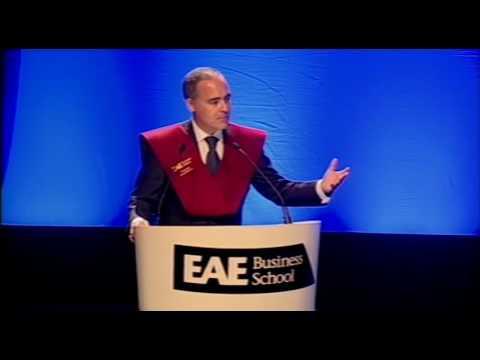 Ceremonia de Graduación EAE Business School 2013 (Campus Barcelona) || Dircuso Javier Rodriguez